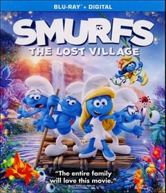 Smurfs: The Lost Village Blu-ray Box Art