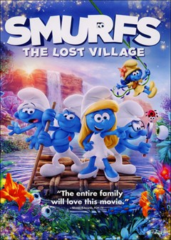 Smurfs: The Lost Village DVD Box Art
