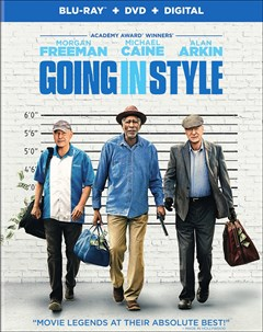 Going in Style Blu-ray Box Art