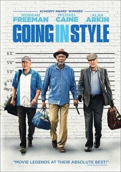 Going in Style DVD Box Art