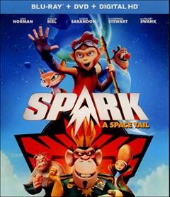 Spark: A Space Tail (2017) Blu-ray Box Art