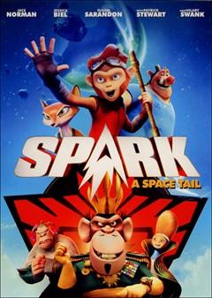 Spark: A Space Tail (2017) DVD Box Art