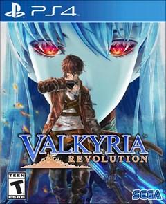 Valkyria Revolution PlayStation 4 Box Art