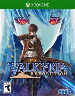 Valkyria Revolution Xbox One Box Art