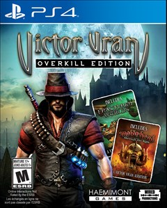 Victor Vran: Overkill Edition PlayStation 4 Box Art