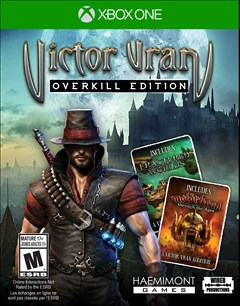 Victor Vran: Overkill Edition Xbox One Box Art
