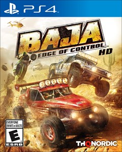 Baja: Edge of Control HD PlayStation 4 Box Art