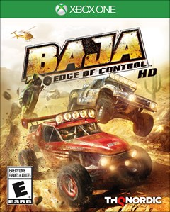 Baja: Edge of Control HD Xbox One Box Art