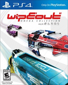 Wipeout Omega Collection PlayStation 4 Box Art