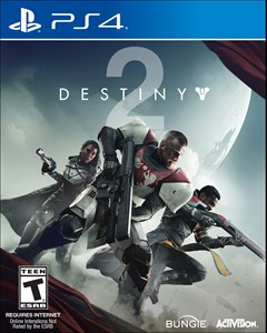 Destiny 2 PlayStation 4 Box Art