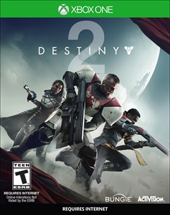 Destiny 2 Xbox One Box Art