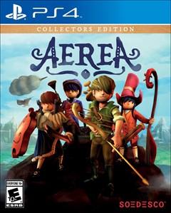 AereA Collector's Edition PlayStation 4 Box Art