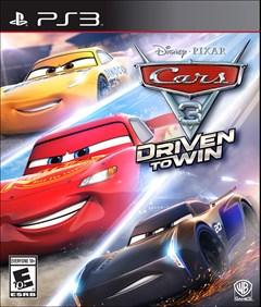 Cars 3: Driven to Win PlayStation 3 Box Art
