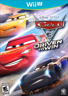 Cars 3: Driven to Win Wii U Box Art