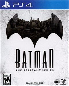 Batman: The Telltale Series PlayStation 4 Box Art