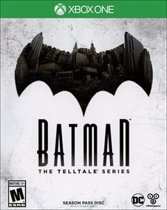 Batman: The Telltale Series Xbox One Box Art