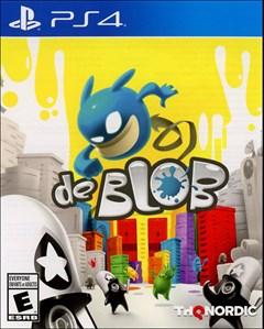 de Blob PlayStation 4 Box Art