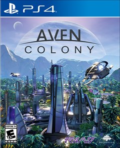 Aven Colony PlayStation 4 Box Art