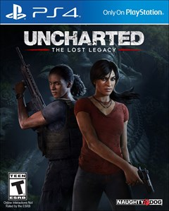 Uncharted: The Lost Legacy PlayStation 4 Box Art
