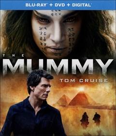 The Mummy (2017) Blu-ray Box Art