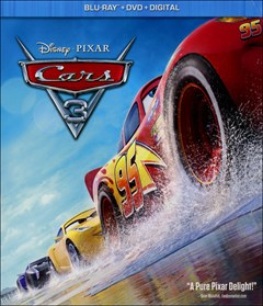 Cars 3 Blu-ray Box Art