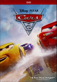 Cars 3 DVD Box Art