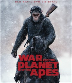 War for the Planet of the Apes Blu-ray Box Art
