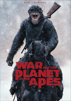 War for the Planet of the Apes DVD Box Art