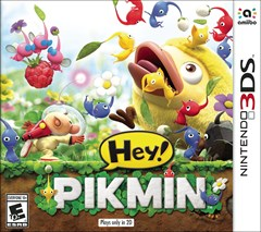 Hey! Pikmin Nintendo 3DS Box Art