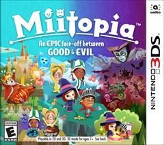 Miitopia Nintendo 3DS Box Art
