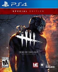 Dead by Daylight PlayStation 4 Box Art