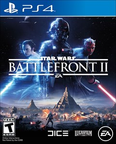 Star Wars: Battlefront II PlayStation 4 Box Art