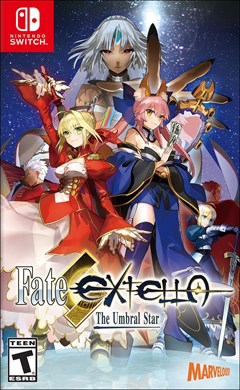 Fate/Extella: The Umbral Star Nintendo Switch Box Art