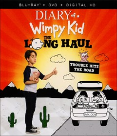 Diary of A Wimpy Kid: The Long Haul Blu-ray Box Art
