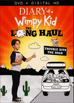 Diary of A Wimpy Kid: The Long Haul DVD Box Art