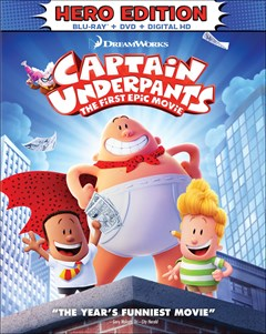 Captain Underpants: The First Epic Movie Blu-ray Box Art