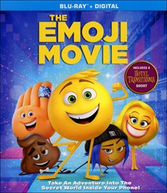The Emoji Movie Blu-ray Box Art