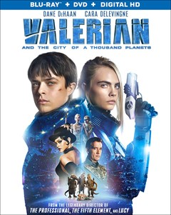 Valerian and the City of a Thousand Planets Blu-ray Box Art