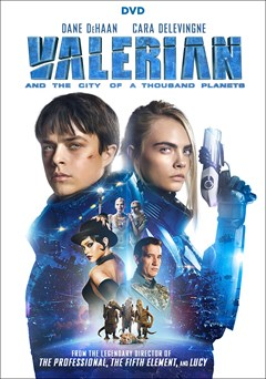 Valerian and the City of a Thousand Planets DVD Box Art