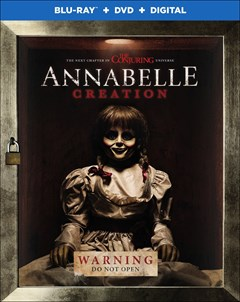 Annabelle: Creation Blu-ray Box Art