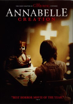 Annabelle: Creation DVD Box Art