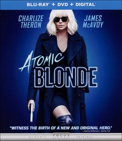 Atomic Blonde Blu-ray Box Art