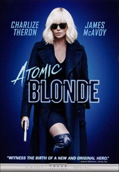 Atomic Blonde DVD Box Art