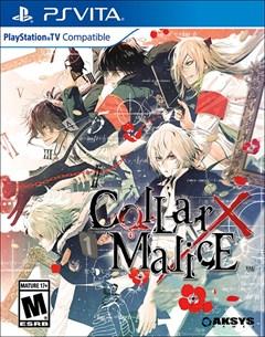 Collar X Malice PlayStation Vita Box Art