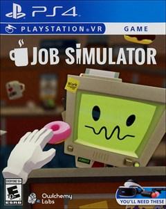 Job Simulator PlayStation 4 Box Art