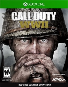 Call of Duty: WWII Xbox One Box Art