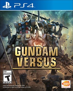 Gundam Versus PlayStation 4 Box Art