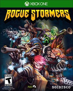 Rogue Stormers Xbox One Box Art