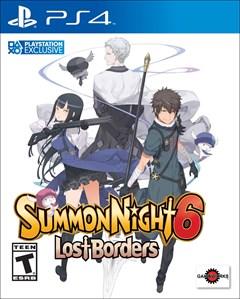 Summon Night 6: Lost Borders PlayStation 4 Box Art