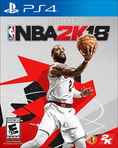 NBA 2K18 PlayStation 4 Box Art